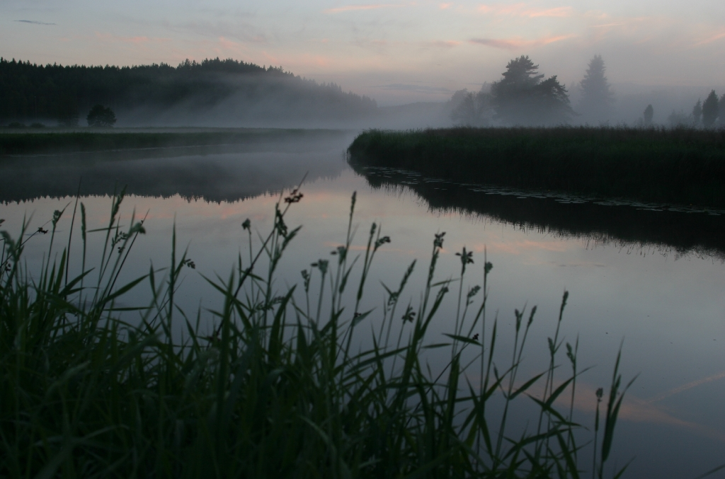 Emån i dimma 2 juli 2005