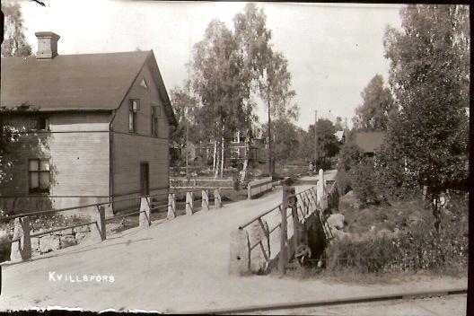 Gamla Öknavägen vid Karlfors.